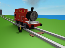 Dot the Red Tank Engine