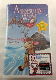 Annabelle's Wish VHS