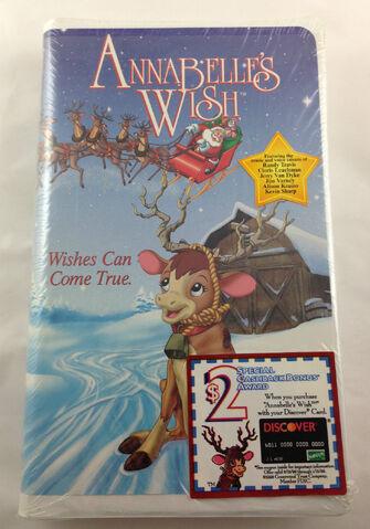 File:Annabelle's Wish VHS.JPG