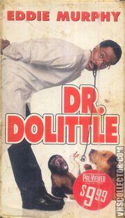 Dr Dolittle VHS Front Cover