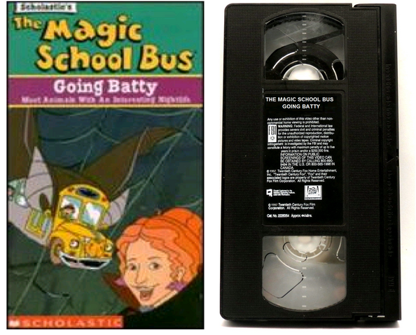 File:The Magic School Bus, Going Batty VHS.png