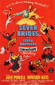 1954 - Seven Brides for Seven Brothers Movie Poster