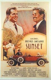 1988 - Sunset Movie Poster