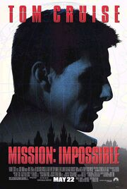 1996 - Mission - Impossible Movie Poster