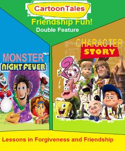 Cartoon friendship fun
