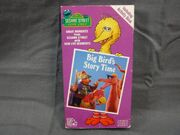 Big Birds Story Time 1987 VHS