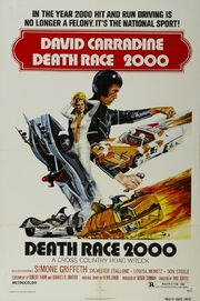 1975 - Death Race 2000 Movie Poster