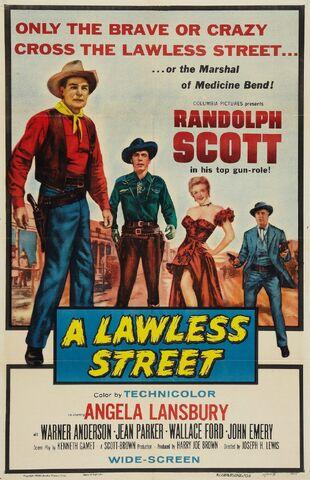 File:1955 - A Lawless Street Movie Poster.jpg