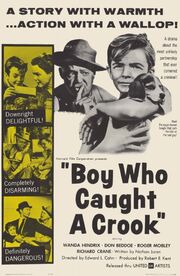 1961 - Boy Who Caught a Crook Movie Poster