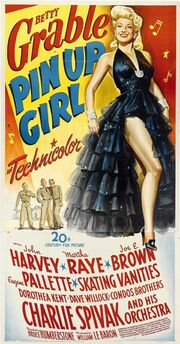 Betty Grable pin up girl