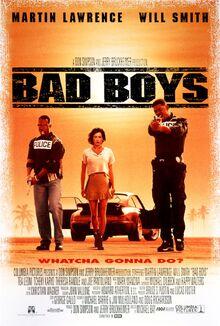 1995 - Bad Boys Movie Poster