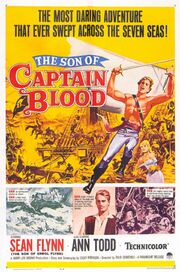 1962 - The Son of Captain Blood Movie Poster
