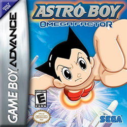 Astro Boy - Omega Factor Coverart