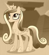 Princess Cadance ID S4E11 Sepia Tone