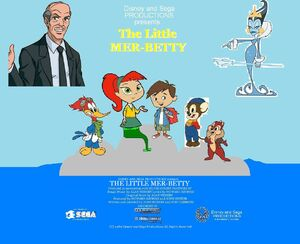 Disney and Sega's The Little Mer-Betty Poster