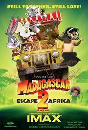 Madagascar Escape 2 Africa (Disney and Sega Animal Style) Poster