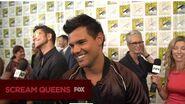 SCREAM QUEENS The SCREAM QUEENS Cast At San Diego Comic-Con