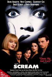 Scream 1 poster