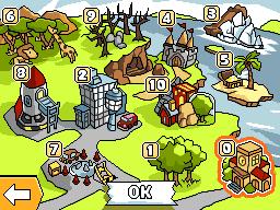 Main map of Scribblenauts