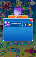 Quests Collect 200 pearls