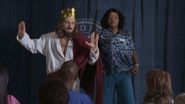 File:8x10 JD and Turk as Jesus and Laverne.jpg