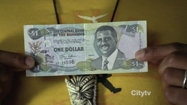 File:8x14 One Dollar Bahamas Bill.jpg