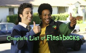 List of flashbacks in Scrubs