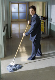 7x4 JD is a janitor