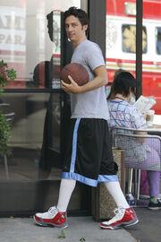 7x6 JD plays basketball