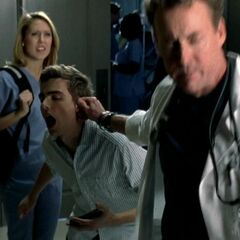 Dr. Cox is very angry at Cole.