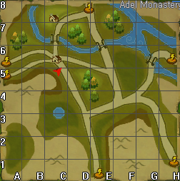 Adel monastery gypsy map