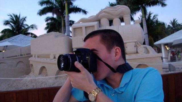 File:Sean taking pictures key west.jpg