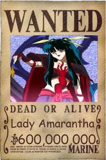 Lady Amarantha wanted