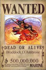 Braddock Wanted