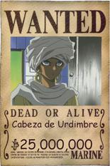 Cabeza wanted