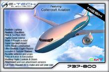 Boeing 737-800 (E-Tech) Promo
