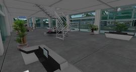 Seychelles Isles Airport Terminal Interior, looking SE (02-15)