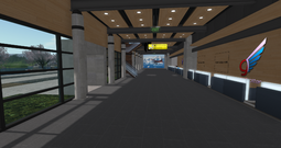 Juneau Regional Airport terminal interior (10-14)