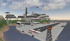 Abbotts Aerodrome looking NE, 2006
