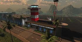 Santos Dumont Air Base, south view