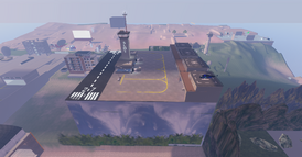 DT Regional Skyport airport to 102m