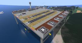 Grenadier Airport, looking SW (11-15)