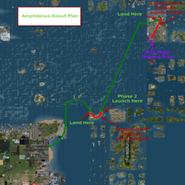 D-Day 2014 Amphibious Assault Plan