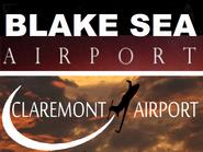 Blake Sea-Claremont Airport Logo