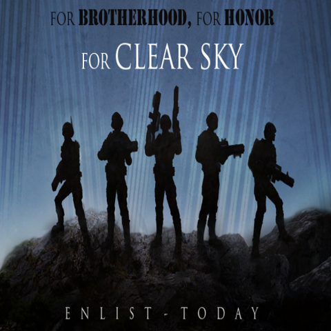 File:Clear Sky - Enlist (Poster Attempt... Thing).png