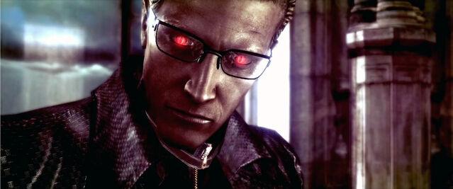 File:Wesker evil eyes by aldiron-d4945zn.jpg