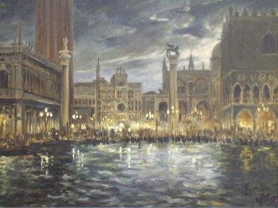 Venice-san-marco-at-night-irek-szelag