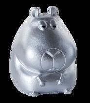 Mini silver norman