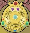 Kumari medallion