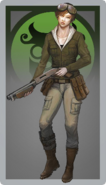 Female hunter